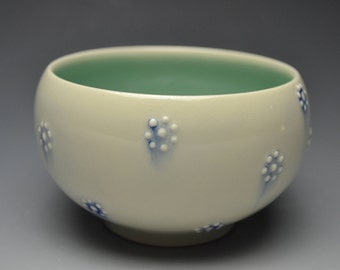 Flower Dot Jewelry Bowl