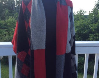 Cashmere Wrap, Long Scarf, Shoulder Scarf, Wrap, Shawl