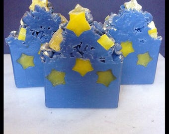 Once Upon A Starry Eve - Handmade Soap - Artisan Bar Soap - Autumn Scent - With Silk!
