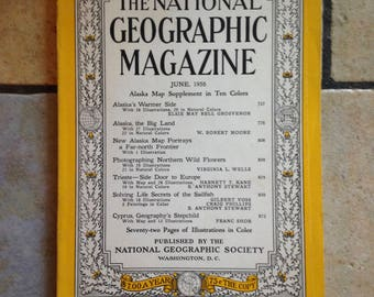June, 1956 National Geographic Magazine