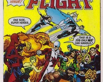 Marvel #1 Alpha Flight Comic Card from 1984 FTCC