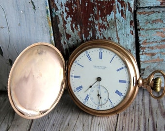 Antique Hamilton 1903 Hunter Case Pocket Watch by avintageobsession on etsy...FREE USA Shipping