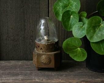 Antique Bronze Chinese Opium Den Light/ lantern