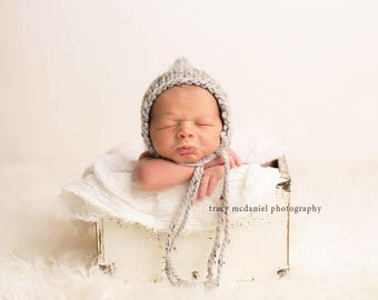 Newborn Hat Boy, Newborn Photo Prop Boy, Newborn Boy Hat Photo Prop, Newborn Boy Props, Newborn Pixie Hat, Knit Newborn Hat, Newborn Bonnet