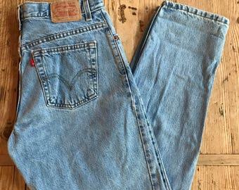 Vintage Levi's 550 jeans, Levi's 550 relaxed jeans, vintage Levi's jeans, mom jeans