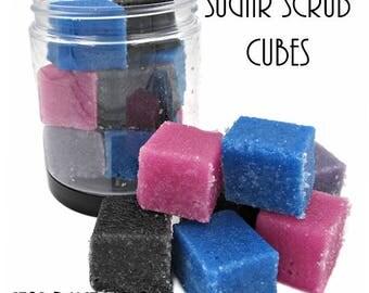 Sugar Scrub Cubes-Stardust Galaxy