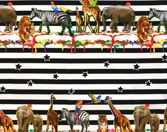 Kokka Japanese Textiles - Animal Party in Multi