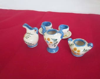 CHILDRENS TINY TEASET Dollhouse Size