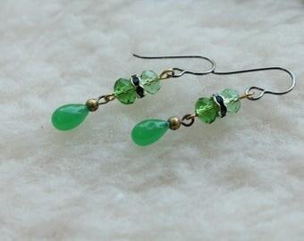 Greenery - Surgical Steel / Niobium / Titanium Hypoallergenic Earrings for Sensitive Ears - Nickel Free by Pretty Sensitive Ears