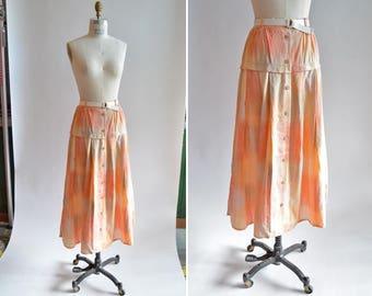 Vintage 1980s COTTON skirt
