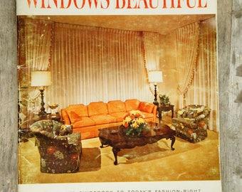 Vintage 60s Kirsch Windows Beautiful Decorating Book/Retro/Mid Century