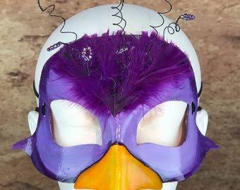 Purple Bird Mask