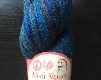 Misti Alpaca Sock Yarn Blues in the Night - Discontinued