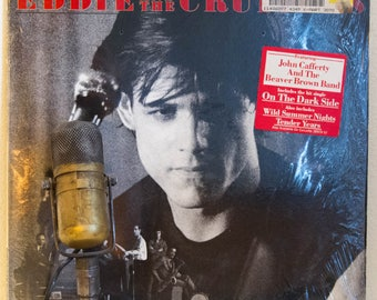 ON SALE Eddie and the Cruisers Vinyl Record Album LP 1980s Movie Drama Rock and Roll Mystery Fun John Cafferty & The Beaver Brown Band (Scot