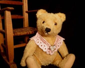 Vintage 1950s Original Steiff Gold/Yellow Teddy Bear Steiff