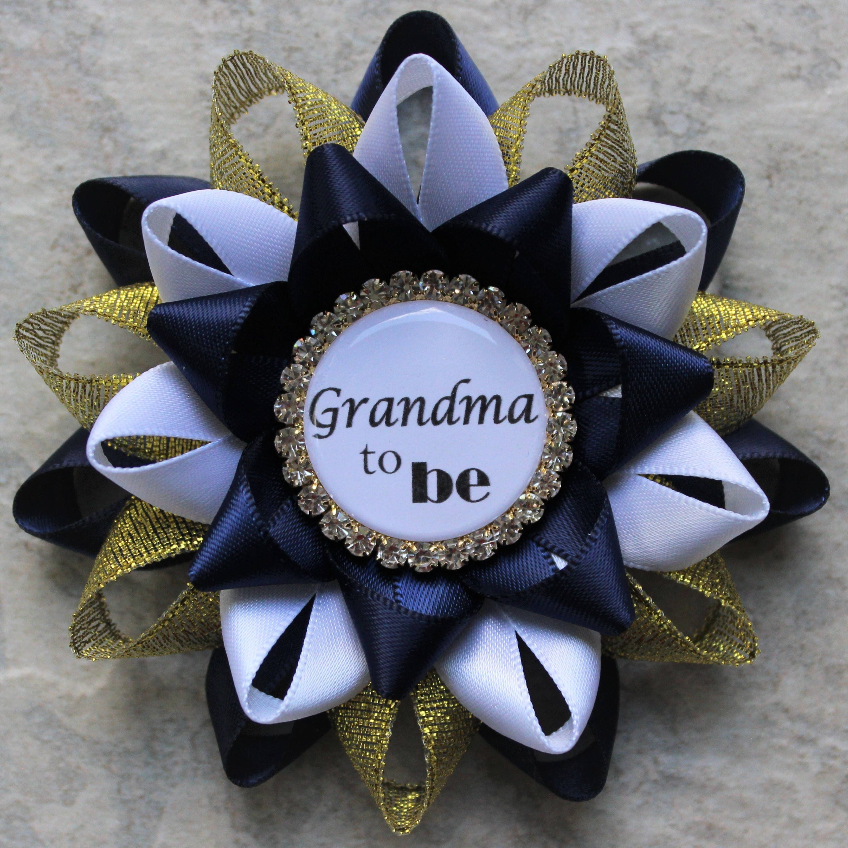 Royal Baby Shower Decorations, Little Prince Baby Boy Shower, Navy Blue And  Gold, White, Royal Prince Baby Shower Theme, Mommy Corsage Pin