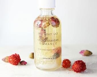Body Oil | Perfumed Body Oil with shimmer sparkle | 100% natural & vegan