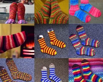 Custom Handknitted Socks