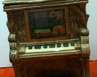 Vintage Toyo Piano Music Box Made in Japan, 1970s