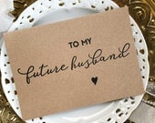 Gift For Groom, Gift, To My Future Husband, Wedding Gift, Groom Card, Groom to Be Gift, Husband to Wife Gift, Wedding Day Card, Husband Gift