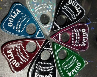Design your own Ouija board resin necklace