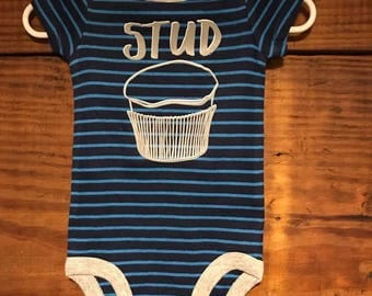 Stud Muffin//Ready to Ship//Infant Bodysuit//Babyshower//Gift
