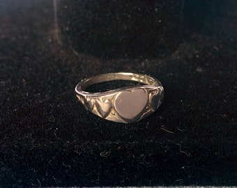 Sterling Silver Infant Ring, Silver Baby Ring, Tiny Sterling Silver Ring