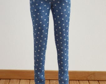 Blue flowery pants for Made to Move Barbie