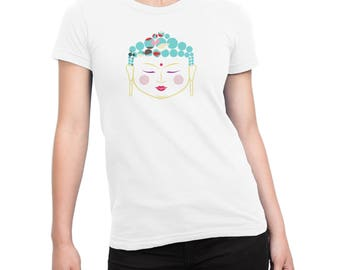 Womens t-shirt, Buddha t-shirt, gift for her