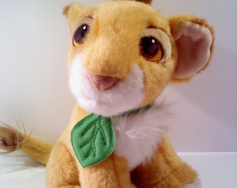 Disney LION KING SImba Plush