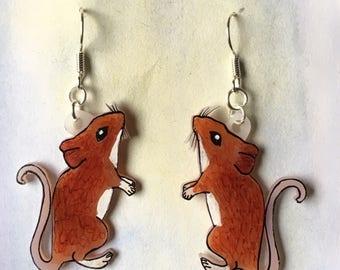Mouse earrings!