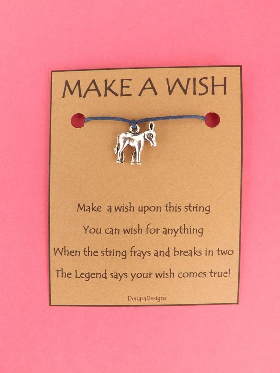 Little Donkey Wish String