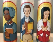 Mormon Prayer Candles: Joseph, Emma, and Jane