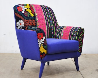 Bay Armchair - blue love