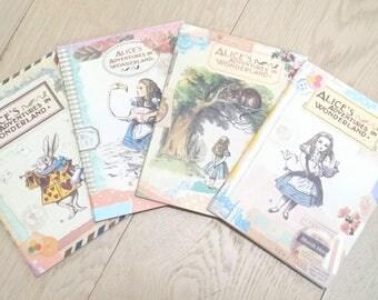 Alice's Adventures In Wonderland Notebook