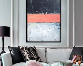 48x36 Inch Large Abstract Painting, Abstract Wall Art. Large Abstract Art. Original Abstract Painting. Large Abstract Wall Painting.