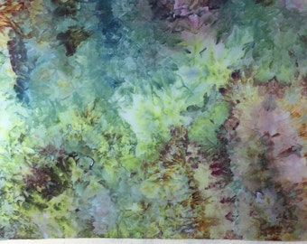 Ice Dyed Fabric, Muted Melodies #2, Half Yard (MB) #54