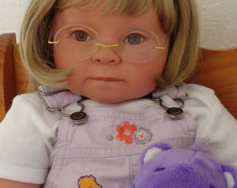 """Reborn 22"""" Toddler Girl Doll """"Cassie"""" - Down Syndrome Tribute"""