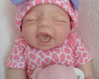 "Reborn Life Like 20"" Infant Baby Girl Doll Sydney -ready to ship!"