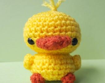 Cute Duck Amigurumi Crochet Plush - Ready to Ship