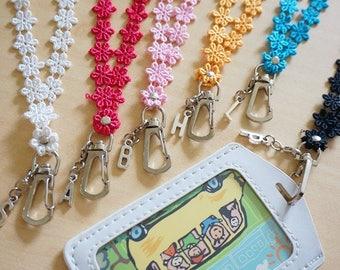Personalized lanyard, initial lanyard, lanyards, personalized lanyards  ,personalized lanyards for keys, lanyard with id holder ,id badges