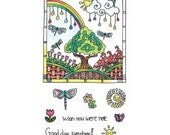 Hampton Art Coloring Clear Stamps - Color Me Sunshine