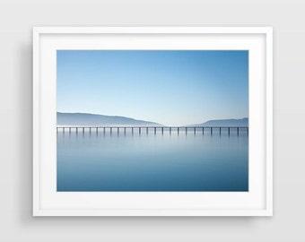 Ocean Photography, Beach Print, Large Wall Art, Ocean Wall Art, Nature Photography, Beach Decor, Beach Wall Art, Ocean Print, Minimalist