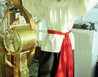 Renaissance Sailor/Pirate Cotton Sash