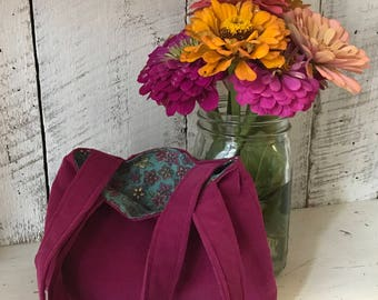 Simple tote for your little wildflower