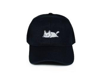 Relaxing Kitty Baseball Cap