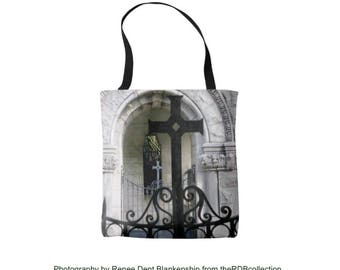 Black Cross Tote