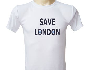 Inspirational Tshirt - Save London Love Peace Pray For London Gifts For Friends Unisex Tees