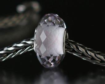 Pink amethyst faceted semi-precious gemstone 12-54