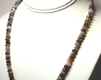 Botswana Agate Necklace -Agate Necklace